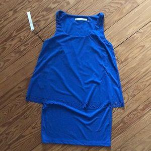 Susana Monaco blue dress